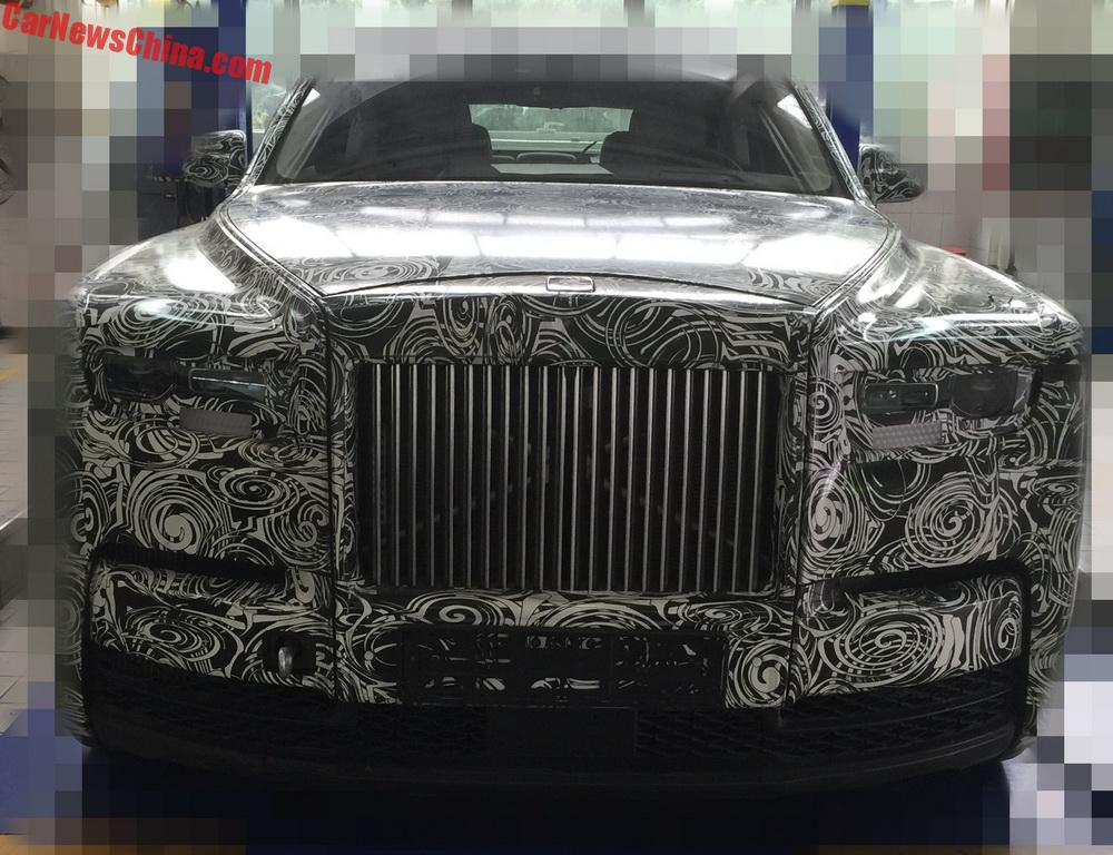 Rolls-Royce Unveils First of Seven Limited Edition Phantoms