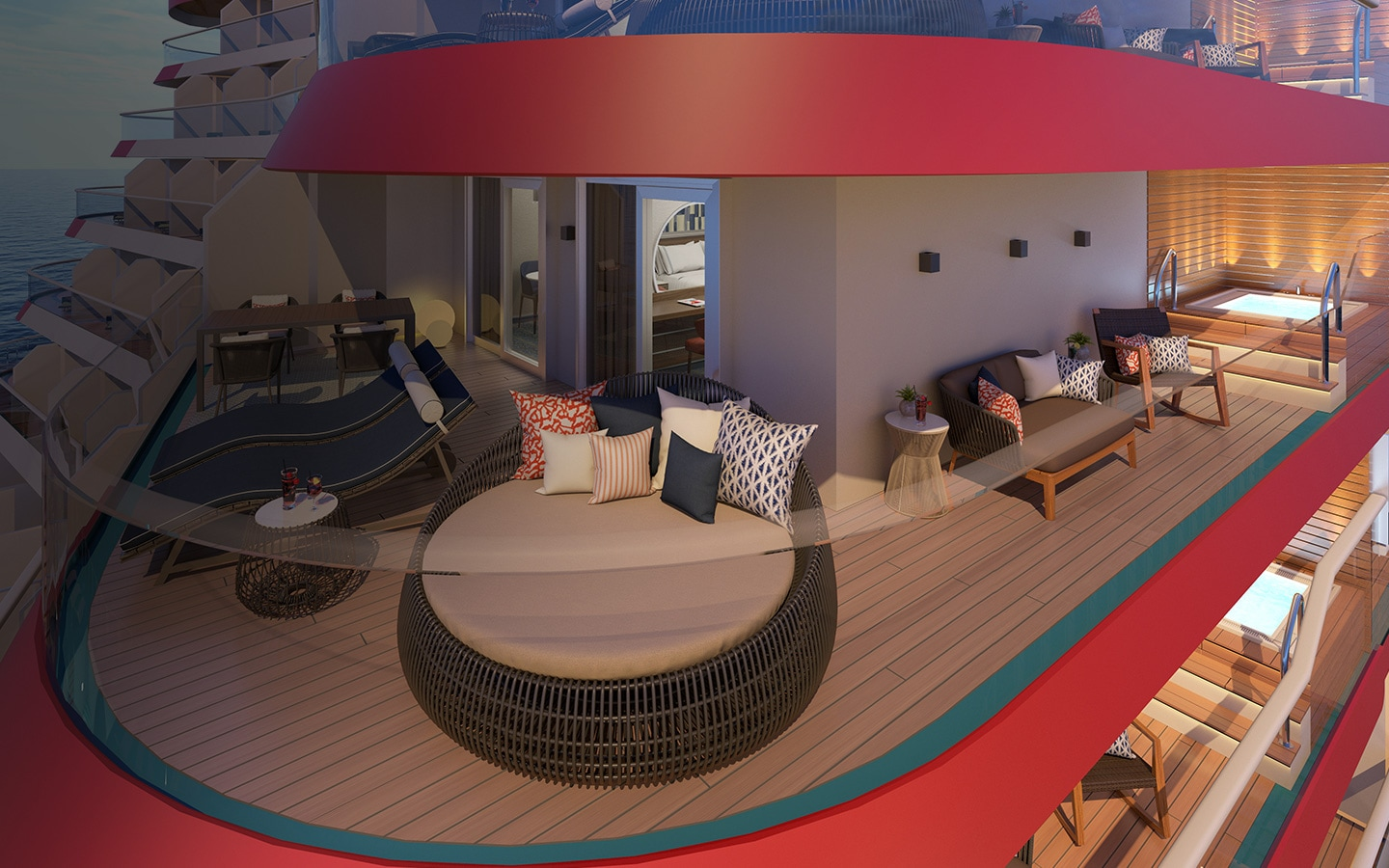 Mardi Gras Staterooms Cruise Ship Rooms Amp Suites Carnival