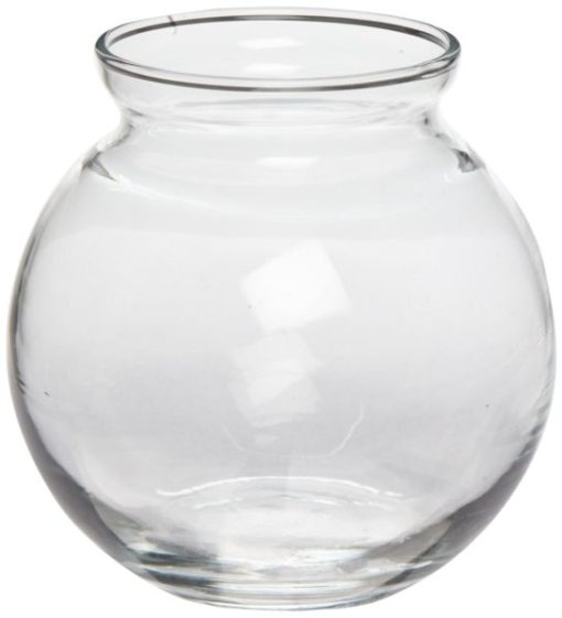 """4"""" Glass Ivy Bowl Carnival Game Supplies"""