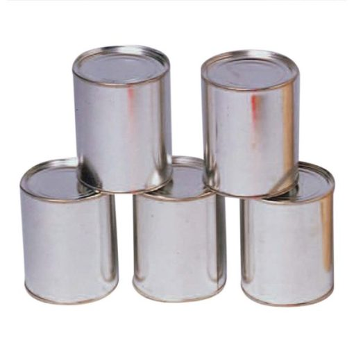 Knockdown Metal Cans Carnival Supplies