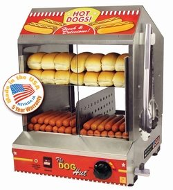 The Hotdog Hut Steamer