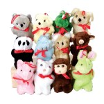 "4"" Assorted Plush Bulk Carnival Prize Plush"