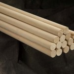 Wood Dowels Carnival Supplies