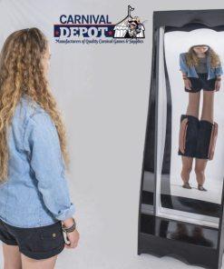 Freestanding Funhouse Mirrors