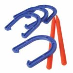 Plastic Horseshoe Set Carnival Supplies