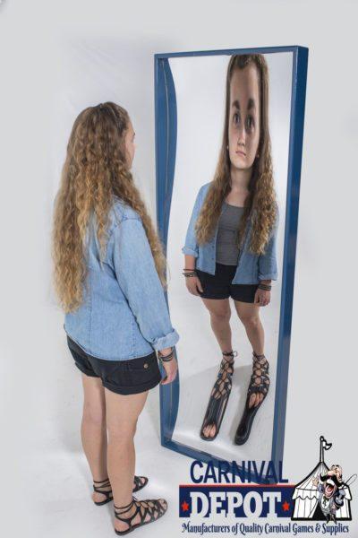 6' Funhouse Mirror Blue