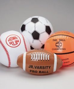 Assorted Sports Ball Inflates Carnival Prize