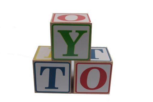 Blockbuster Alphabet Blocks