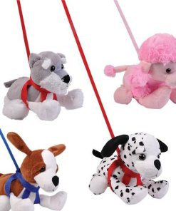 "7"" Plush on Leashes"
