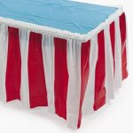 Carnival Table Skirting Carnival Supplies