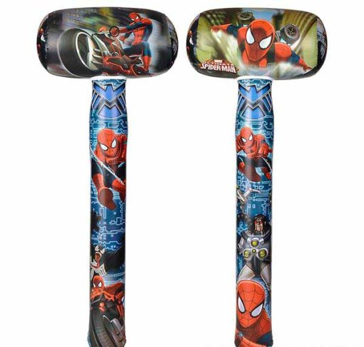 Spiderman Mallet Inflate Carnival Prize