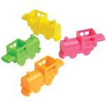 Train Shaped Whistles Carnival Prize