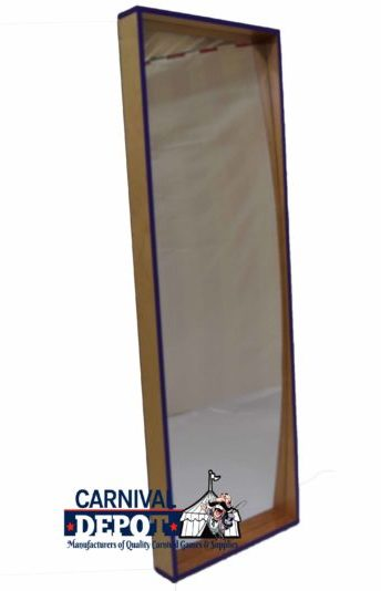 6' Funhouse Mirror Natural Purple