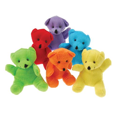 Plush Neon Teddy Bears Carnival Prize Plush