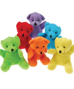 Plush Neon Teddy Bears Carnival Prize Plush