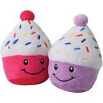 Smiling Cupcake Carnival Prize Plush