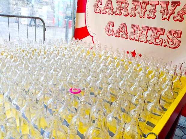 Bottles Ring Toss Carnival Game 1