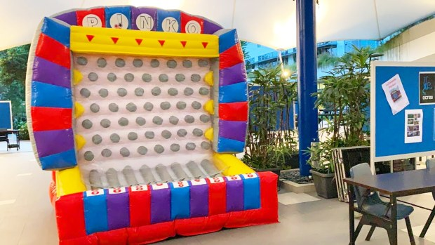 Plinko Inflatable Game