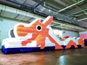 Singapore Dragon Playground Inflatable Obstacle Rental