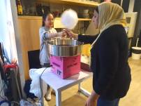 Candy Floss Food Stall