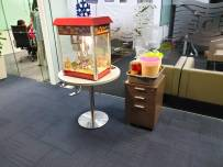 Popcorn Live Station Booth Singapore