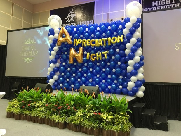 Large Balloon Stage Backdrop 1