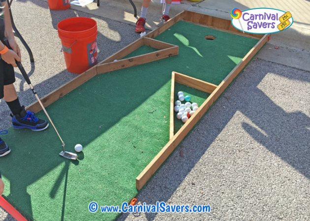 Carnival Game Idea   Hole In One hole in one homemade carnival game jpg