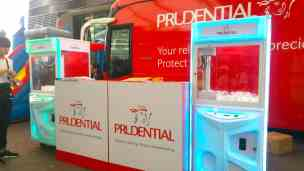Customised Toy Catcher for Prudential