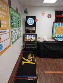 Professional Dart Machine Stand