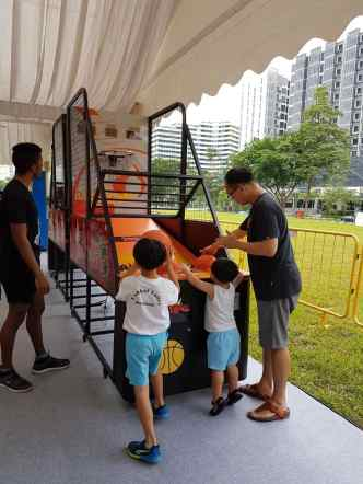Singapore Basketball Machine Rental
