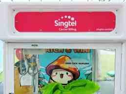 Customised Branding on arcade machine singapore