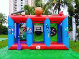 3 in 1 Sports Inflatable Game Rental