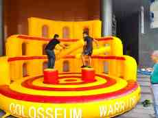 Colosseum Warrior Inflatable Game