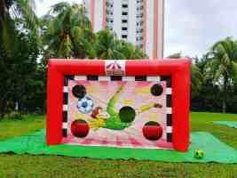 Soccer Inflatable Game Rental Singapore