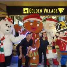 Christmas Mascot Rental