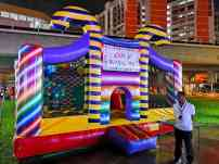 Candy Land Bouncy Castle Rental