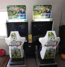 Initial D Arcade Machine Rental