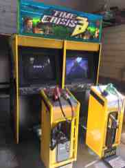time crisis 3 arcade machine rental