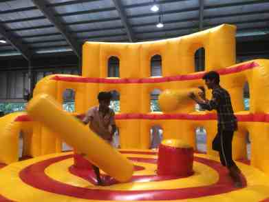 Gladiator Dome Inflatable Rental