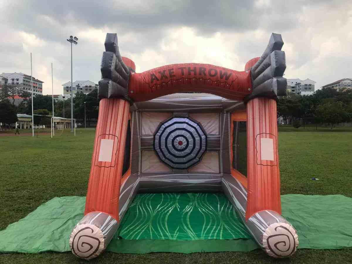 Axe Throw Inflatable Games Rental Singapore