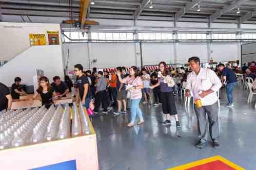 Fun Fair Game Booth Bottle Ring Toss Rental Singapore