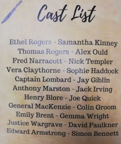ATTWN Cast in Programme