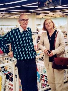 Los Nonnos Roberto y Dina de Carosi son parte fundamental de la reseña histórica de Caroai Café