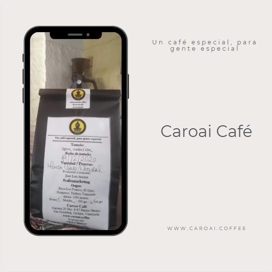 Café de origen, tostado en nuestra coffee shop y con bolsa especial con válvula desgasificadora.