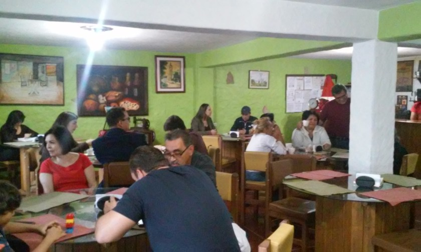 Katuay Café es el inicio de la reseña histórica de Caroai Café