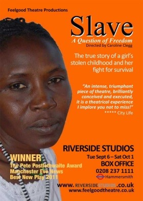 Slave a question of freedom   Lowry Salford   Carol Donaldson Theatre Composer