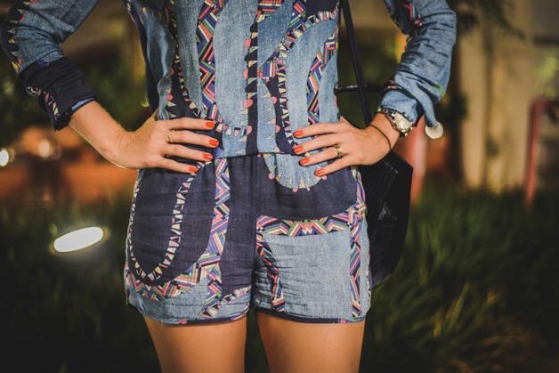 conjunto-azul-estampado-sandália-preta-blog-de-moda-em-ribeirão-preto
