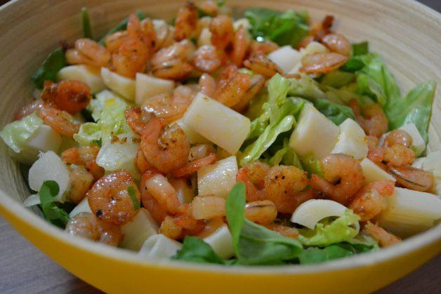 salada ligth e refrescante para o verão