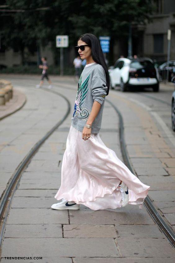 street style look com moletom 2