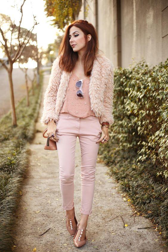look inverno rosa blush]